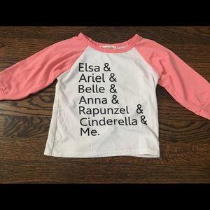 Other - Princess Name Toddler Shirt